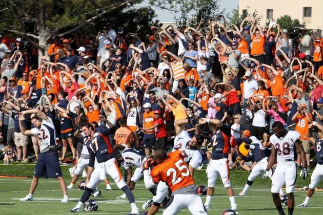 Denver Broncos Training Camp Photo Gallery