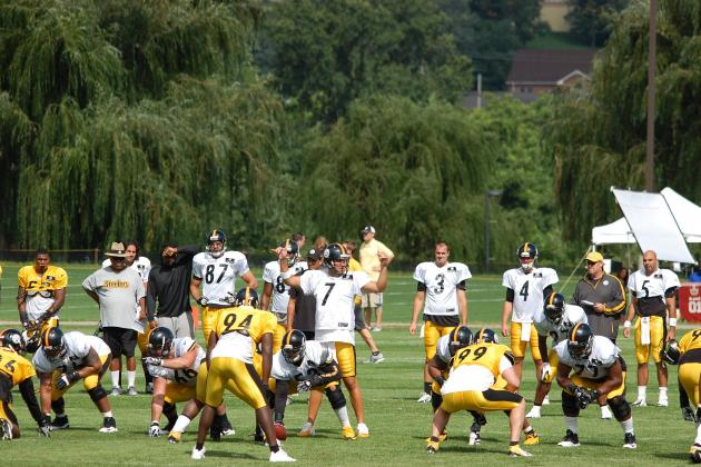 Pittsburgh Steelers: Observations from the 1st Padded Training Camp Practice