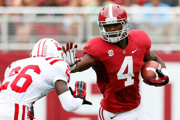 10 College Football RBs Guaranteed to Rush for over 1,000 Yards in 2013