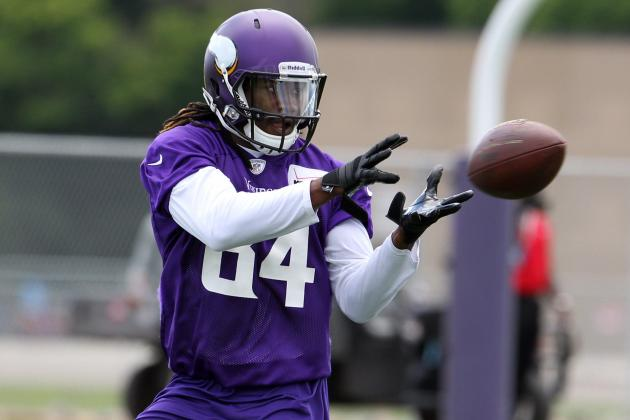 Predicting the Minnesota Vikings Wide Receiver Depth Chart Heading into 2013