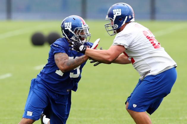 Early Observations from New York Giants Training Camp