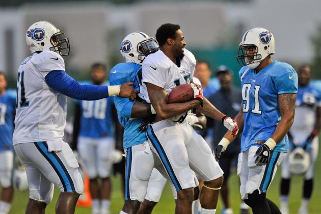 Early Observations from Titans Training Camp