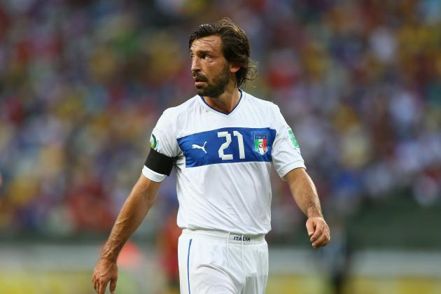 Andrea Pirlo's Most Imperious Passes