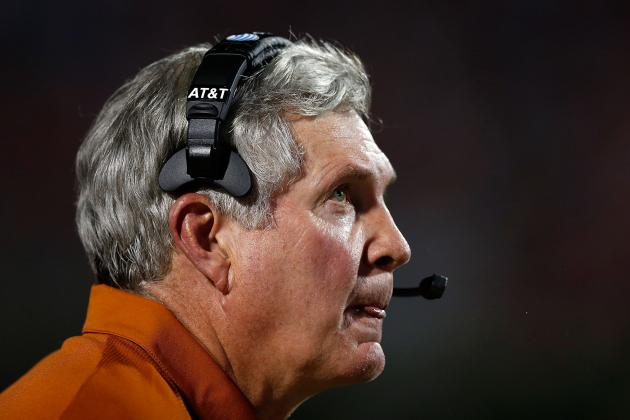 Texas Football: Why Low Ranking on USAT Poll Makes Things Harder for Mack Brown