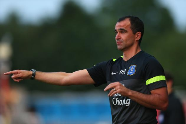 Premier League: 1st Steps for Roberto Martinez 'Rebuilding' at Everton