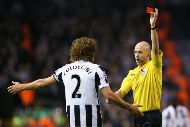 6 Candidates to Lead the Premier League in Red Cards This Season