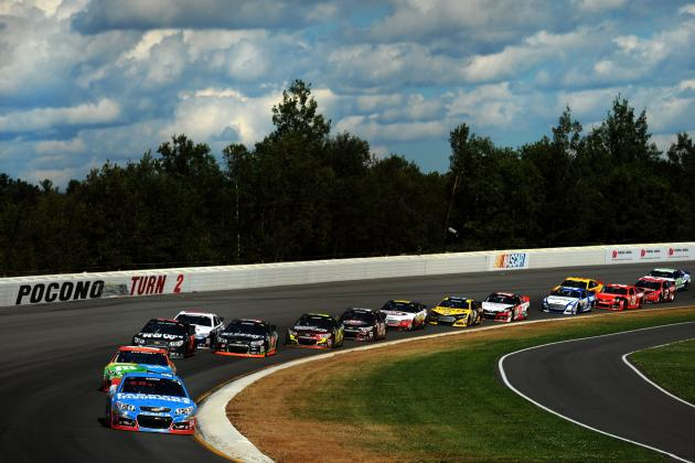 Winners and Losers of NASCAR Sprint Cup Series at Pocono