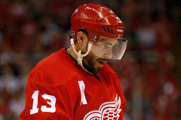 Detroit Red Wings: Who Will Win Battle for Fifth and Sixth Forward Spots?