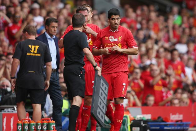 Papers Review: Luis Suarez, Wayne Rooney, Jermain Defoe, Gareth Bale