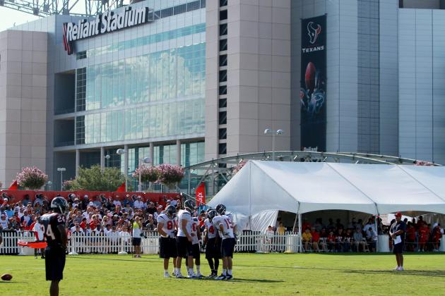 Houston Texans Stock Watch: Players Rising and Falling Through 2 Weeks of Camp