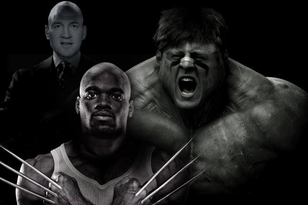 Casting Athletes as Comic Book Characters