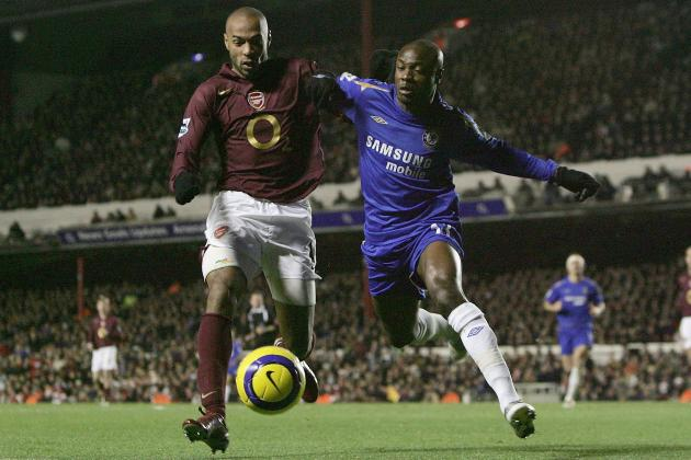 5 Greatest Moments in Chelsea-Arsenal Rivalry