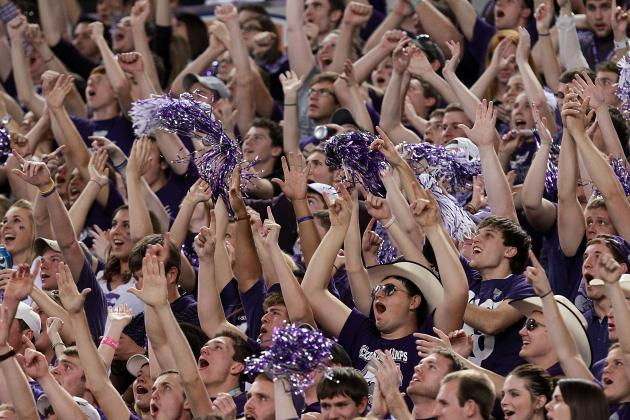 College Football Teams with the Best Student Cheering Sections
