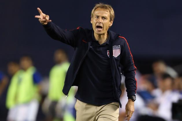 USMNT: Jurgen Klinsmann's Tactical 'Formations' During the Streak