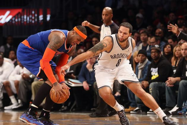 Comparing Brooklyn Nets to NY Knicks Starting Lineup at Every Position