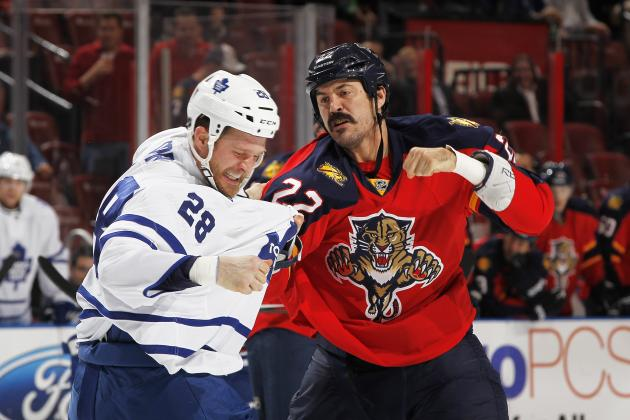 Ranking the 10 Best Fighters in the NHL