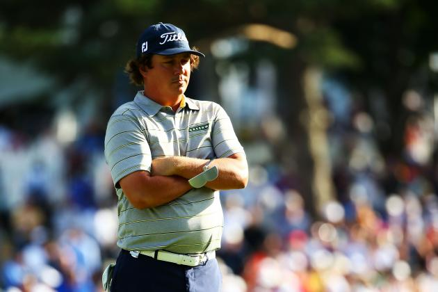 PGA Championship 2013: The Biggest Surprises So Far at Oak Hill