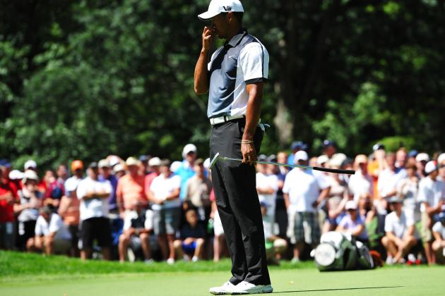 Tiger Woods at PGA Championship 2013: Round 3 Performance Grades at Oak Hill