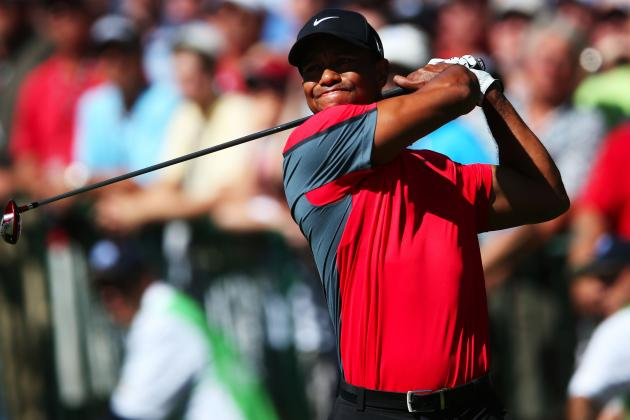 Tiger Woods at PGA Championship 2013: Complete Performance Grades at Oak Hill