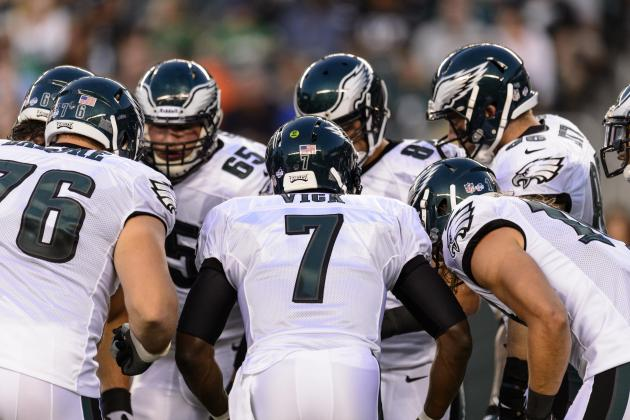 Updating Philadelphia Eagles' Key Position Battles Halfway Through Camp
