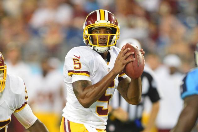 Updating Redskins' Key Position Battles Halfway Through Training Camp
