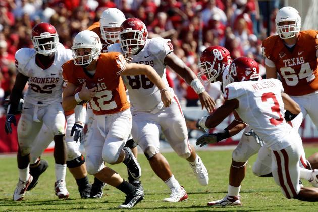 Big 12 Era: Greatest Texas Moments in Texas-Oklahoma Red River Rivalry
