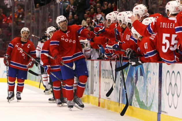 Norway Olympic Hockey Team 2014: Projecting 25-Man Roster for Sochi Games