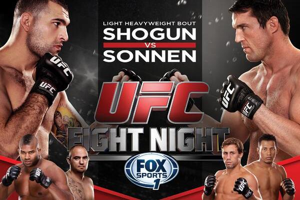 UFC Fight Night 26: Info and Predictions for Shogun vs. Sonnen