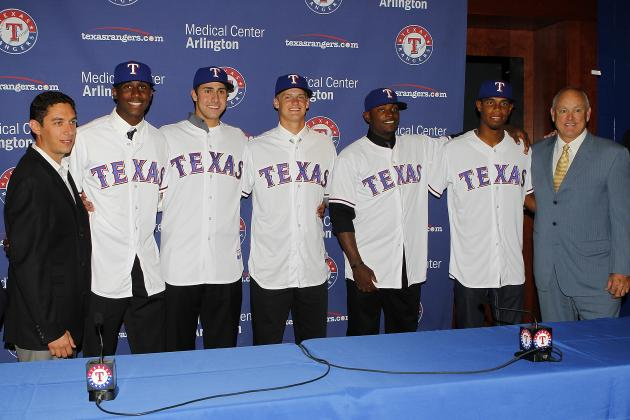 Evaluating the Development of the Texas Rangers' Top 5 Prospects