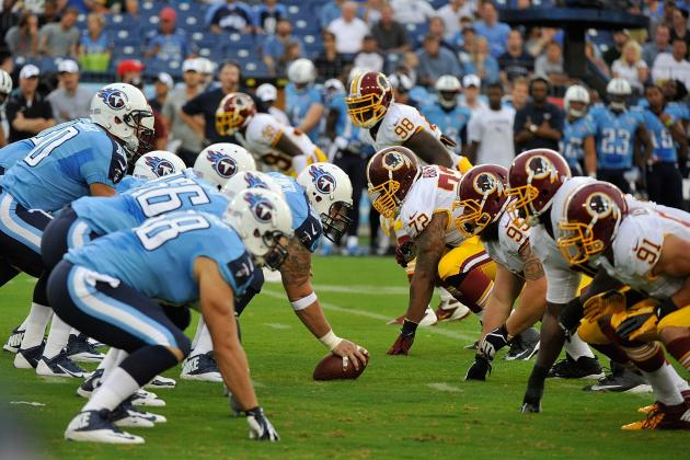 Redskins vs. Titans: Observations and Analysis