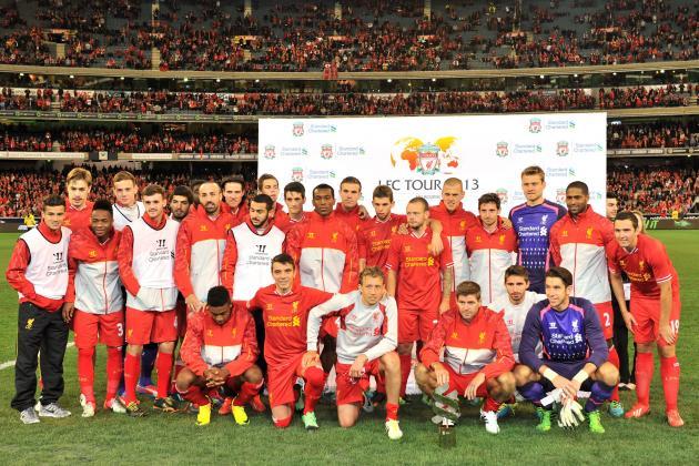 Predicting Liverpool's First-Choice XI for the 2013-14 Premier League Season