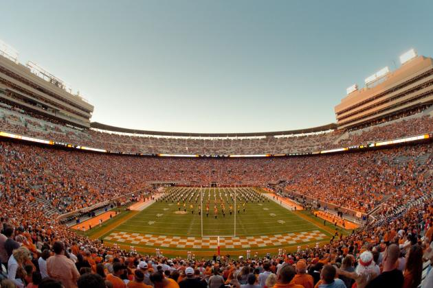 Tennessee Volunteers 2013 Team Program
