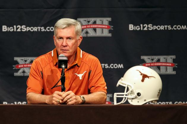 Texas Football 2013 Team Program