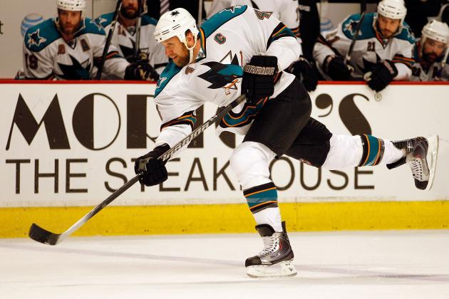 5 Players on 2013-14 San Jose Sharks with Most Swag