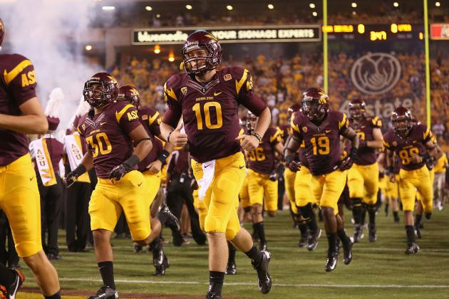 Arizona State Football 2013 Team Program