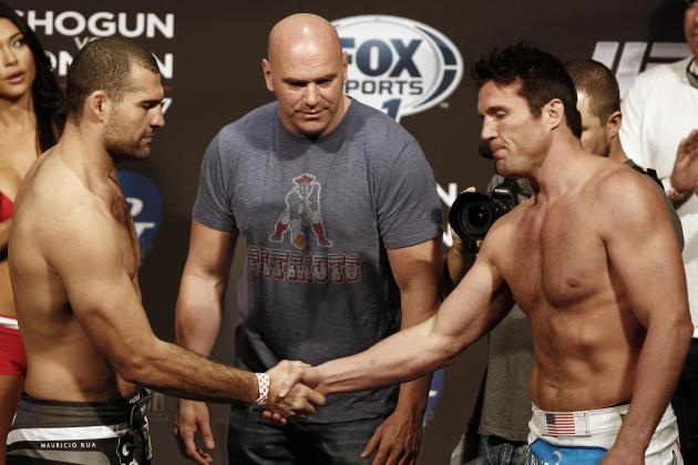 Shogun vs. Sonnen Fight Card: Three Fights You Don't Want to Miss