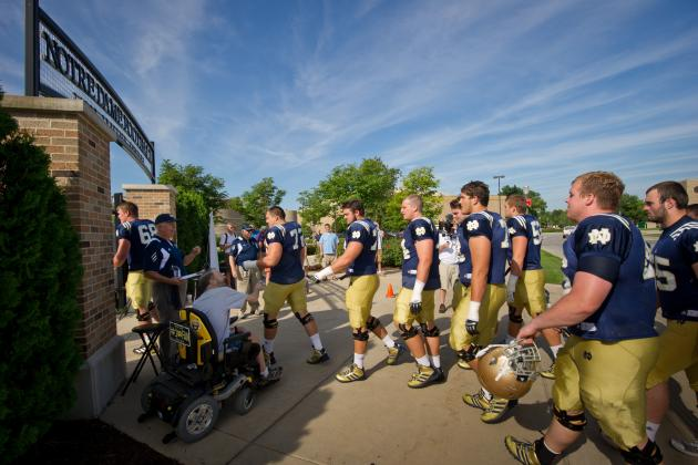 Notre Dame Football 2013 Team Program