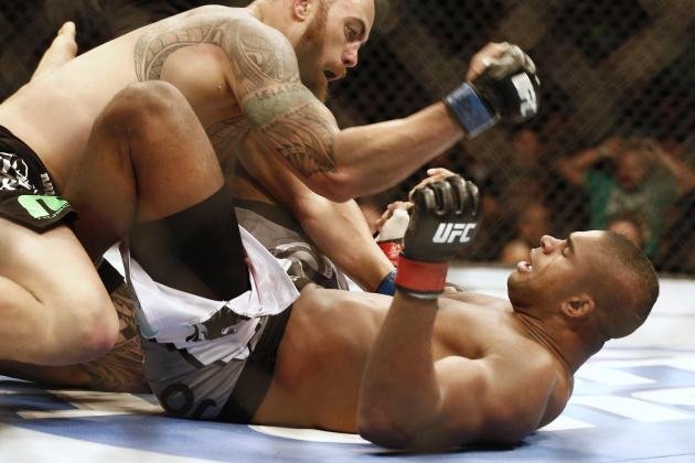 Alistair Overeem and the Biggest Busts in UFC History