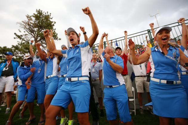 2013 Solheim Cup Winners and Losers