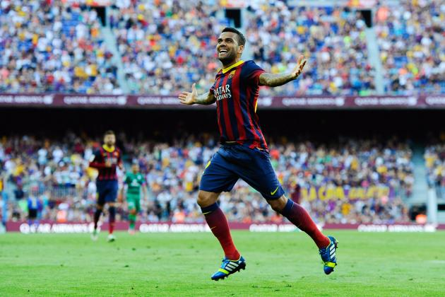 Dani Alves: 5 Reasons the Barcelona Full-Back Is in for a Stellar Season