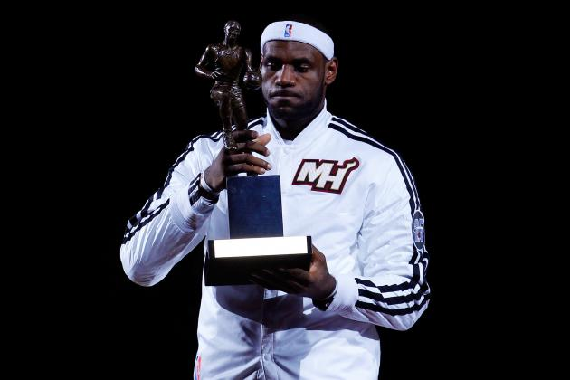 Projecting When LeBron James' NBA MVP Reign Will End