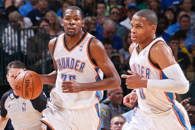 Ranking the Top 25 Players in OKC Thunder History