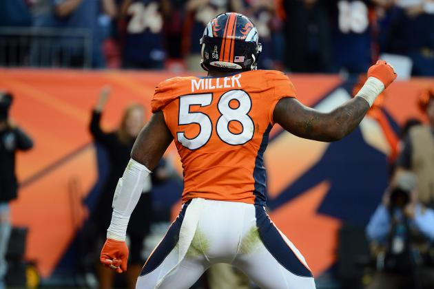 How Von Miller Suspension Changes Denver Broncos 2013 Season