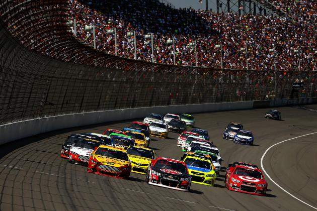 Stock Up, Stock Down for NASCAR Drivers Fighting for 2013 Chase Berths