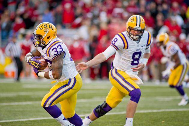 Cowboys Classic 2013: No. 12 LSU Tigers vs. No. 20 TCU Horned Frogs Game Preview