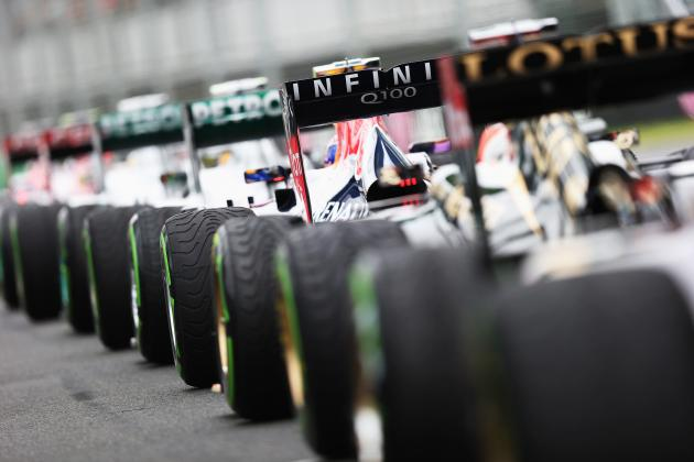 Ranking the F1 Grid by Performance in First Half of 2013 Season