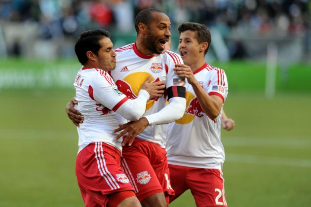 Thierry Henry's 5 Best Goals in MLS