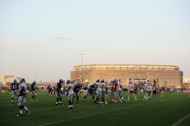 A Look Back at the New York Giants' 2013 Training Camp