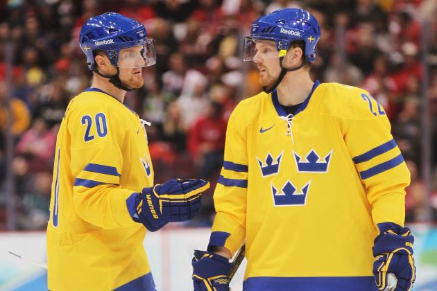 Sweden Olympic Hockey Team 2014: Projecting 25-Man Roster for Sochi Games