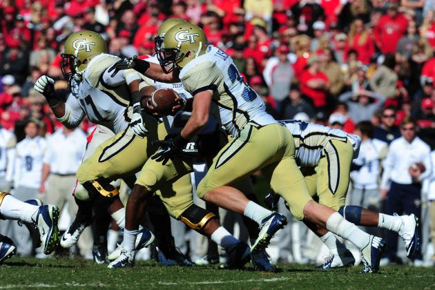 Top Ground-and-Pound Offenses in College Football